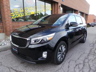 Used 2016 Kia Sedona SX+ Leather, Blind Spot Monitors for sale in Woodbridge, ON
