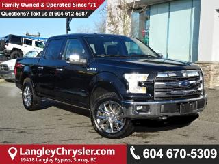 Used 2016 Ford F-150 Lariat *LOCAL BC CAR* LOW KMS*DEALER INSPECTED* for sale in Surrey, BC