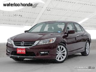 Used 2015 Honda Accord Touring Bluetooth, Back Up Camera, Navigation, and More!!! for sale in Waterloo, ON