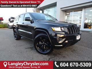 Used 2015 Jeep Grand Cherokee Laredo *ACCIDENT FREE*ONE OWNER*LOCAL BC SUV* for sale in Surrey, BC