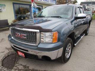 Used 2011 GMC Sierra 1500 LOADED NEVADA EDITION 6 PASSENGER 4.8L - V8.. 4X4.. EXT-CAB.. SHORTY.. LEATHER.. HEATED SEATS.. CD/AUX INPUT.. KEYLESS ENTRY.. for sale in Bradford, ON