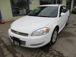 Used 2012 Chevrolet Impala 'GREAT VALUE' POWER EQUIPPED LT MODEL 5 PASSENGER 3.6L - V6.. CD/AUX INPUT.. FLEX FUEL.. KEYLESS ENTRY.. for sale in Bradford, ON