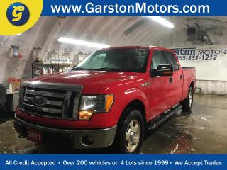 Used 2011 Ford F-150 SUPER CREW*WORK TRUCK*2WD*5.0L 32-VALVE V8*BOX LINER*SIDE STEPS*HITCH RECEIVER w/PIN CONNECTOR*FRONT TOW HOOKS*TRAILER BRAKE CONTROL* for sale in Cambridge, ON