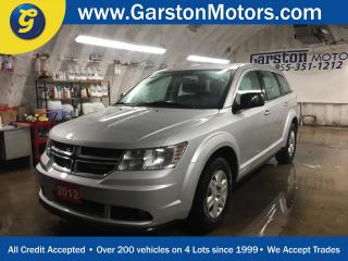 Used 2012 Dodge Journey SE*KEYLESS ENTRY w/REMOTE START*POWER WINDOWS/LOCKS/HEATED MIRRORS*CRUISE CONTROL*DUAL ZONE CLIMATE CONTROL*PUSH BUTTON START*FOG LIGHTS*AM/FM/CD/AUX/USB*HITCH RECEIVER*HEATED FRONT SEATS* for sale in Cambridge, ON