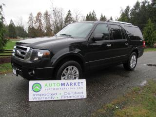 Used 2012 Ford Expedition MAX, LIMITED, LOADED, INSP, WARR for sale in Surrey, BC