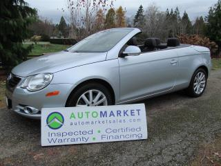 Used 2008 Volkswagen Eos LOADED, INSPECTED, WARRANTY for sale in Surrey, BC