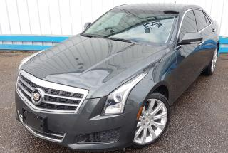 Used 2014 Cadillac ATS 2.0T TURBO AWD *LEATHER* for sale in Kitchener, ON