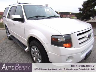 Used 2009 Ford Expedition Limited - Navigation for sale in Woodbridge, ON