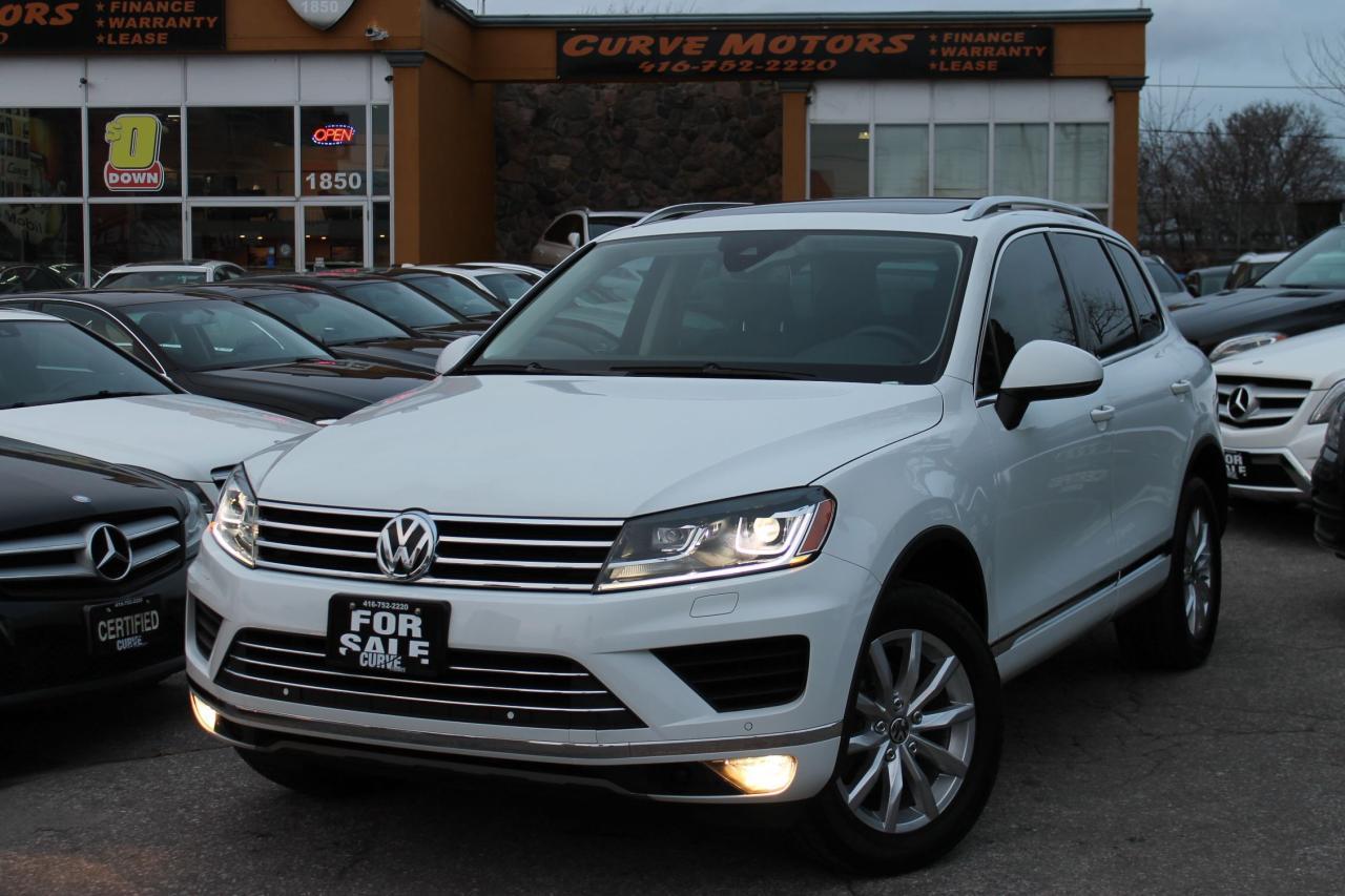2016 Volkswagen Touareg TECH *NAVI/PANO/360 CAM/LED/BLIND/LANE DEPARTURE