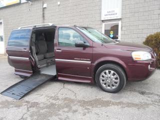 Used 2006 Buick Terraza CXL- Wheelchair accessible Side Entry Conversion for sale in London, ON
