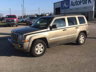 Used 2008 Jeep Patriot Sport, 4 WD, Heated Seat, Only 130 kms for sale in Scarborough, ON