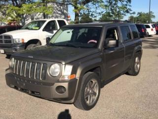 Used 2008 Jeep Patriot Sport, 4 WD, Alloys for sale in Scarborough, ON