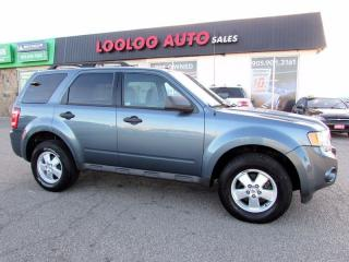 Used 2010 Ford Escape XLT Manual 2.5L Certified 2 Years Warranty for sale in Milton, ON