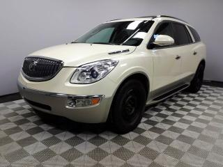 Used 2012 Buick Enclave CXL AWD Seats 7 - Local Edmonton Trade In | No Accidents | 2 Sets of Rims and Tires | Navigation | Back Up Camera | Parking Sensors | Power Sunroof | Rear Skylight | Heated/Cooled Front Seats | Leather Seats | 3 Zone Climate Control with AC | Bluetooth |  for sale in Edmonton, AB
