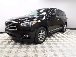 Used 2014 Infiniti QX60 AWD 7 Seats - Local 2nd Owner Trade In | No Accidents | Leather Interior | Heated Front Seats | Multi Zone Climate Control with AC | Power Sunroof | Power Liftgate | Factory Remote Starter | 18 Inch Wheels | Navigation | Back Up/Birds Eye View Camera | Pa for sale in Edmonton, AB