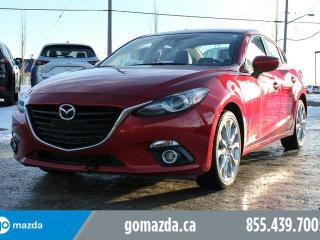 Used 2014 Mazda MAZDA3 GT LUXURY LEATHER SUNROOF NAVIGATION for sale in Edmonton, AB