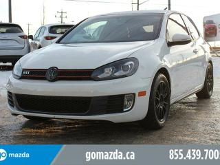 Used 2011 Volkswagen GTI 3-Door 2 SETS OF TIRES LEATHER SUNROOF NAVIGATION for sale in Edmonton, AB