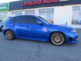 Used 2008 Subaru Impreza STI TURBO AWD 6 SPEED CERTIFIED 2 YR WARRANT for sale in Milton, ON