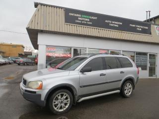 Used 2003 Volvo XC90 4wd, LEATHER, 7 SEATER for sale in Mississauga, ON