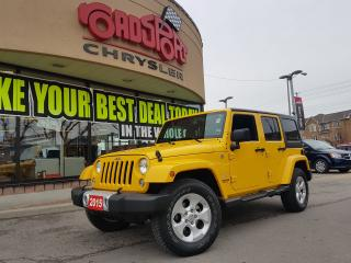 Used 2015 Jeep Wrangler Sahara UNLIMITED NAVI REMOTE START LOW KMS 4X4 for sale in Scarborough, ON