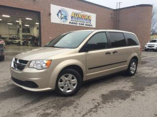Used 2013 Dodge Grand Caravan SE - REAR STOW N'GO - CLEAN CARPROOF for sale in Aurora, ON