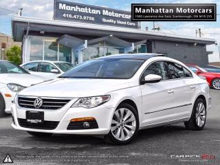 Used 2010 Volkswagen Passat CC SPORTLINE |PANO|PHONE|ALLOY|NOACCIDENT for sale in Scarborough, ON