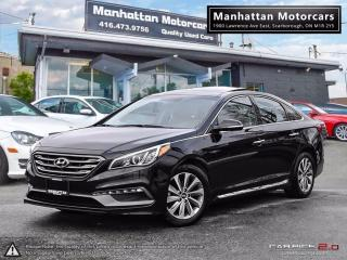 Used 2017 Hyundai Sonata SPORT TECH |NAV|PANO|CAMERA|WARRANTY|PHONE for sale in Scarborough, ON