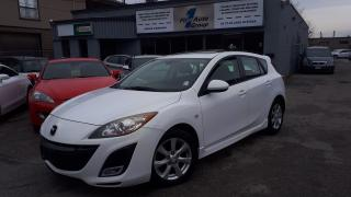 Used 2010 Mazda MAZDA3 GT P-MOON, BLUETOOTH, ALLOYS for sale in Etobicoke, ON