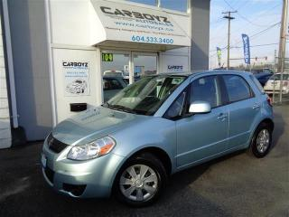 Used 2007 Suzuki SX4 JX Hatchback, Manual, Super Clean!! NO Accidents!! for sale in Langley, BC