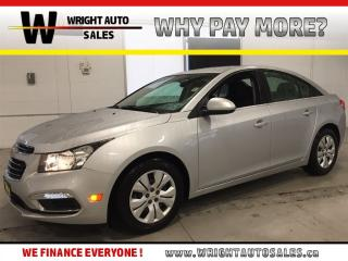 Used 2015 Chevrolet Cruze 1LT|LOW MILEAGE|BACKUP CAMERA|11,761 KMS for sale in Cambridge, ON