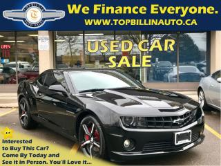Used 2010 Chevrolet Camaro 2SS 6 Speed Manual, 2 YEARS WARRANTY for sale in Concord, ON