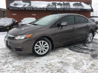 Used 2012 Honda Civic EX for sale in St Catharines, ON
