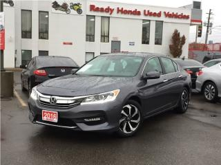 Used 2016 Honda Accord Sedan EX-L - Leather - Sunroof - Lane watch for sale in Mississauga, ON