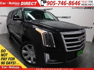 Used 2016 Cadillac Escalade ESV Luxury| SUNROOF| NAVI| WE WANT YOUR TRADE| for sale in Burlington, ON