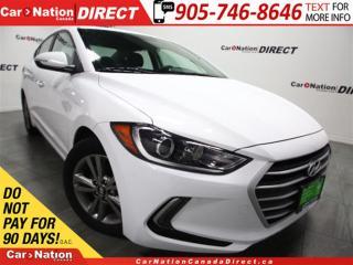 Used 2018 Hyundai Elantra GL  BACK UP CAMERA  BLIND SPOT DETECTION  for sale in Burlington, ON