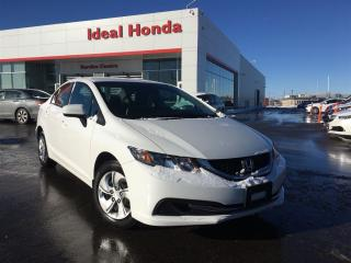 Used 2014 Honda Civic Sedan LX, Back up Camera for sale in Mississauga, ON