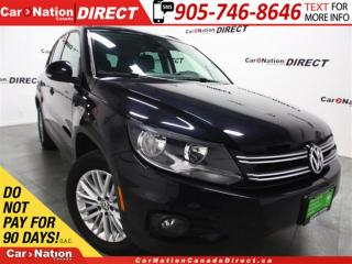 Used 2016 Volkswagen Tiguan Comfortline| AWD| BACK UP CAMERA| for sale in Burlington, ON