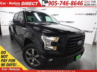 Used 2015 Ford F-150 Sport| 4X4| TONNEAU COVER| NAVI| BACK UP CAM| for sale in Burlington, ON