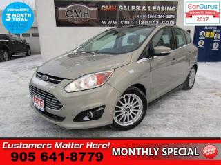 Used 2015 Ford C-MAX SEL  NAVIGATION, LEATHER, PANORAMIC ROOF, POWER SEAT for sale in St Catharines, ON