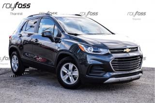 Used 2017 Chevrolet Trax LT Fwd Remote Start Rear Cam Bluetooth for sale in Thornhill, ON