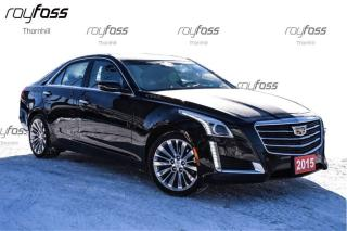 Used 2015 Cadillac CTS Polished Alloys AWD Nav Roof Remote Start for sale in Thornhill, ON