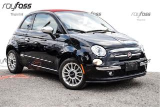 Used 2014 Fiat 500 C Lounge Convertible for sale in Thornhill, ON