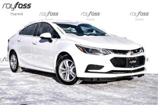 Used 2017 Chevrolet Cruze LT True North Pkg leasing available $306.81+HST for sale in Thornhill, ON