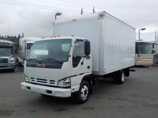 Used 2006 GMC W3500 16 Foot Cube Van Dually Diesel with Ramp for sale in Burnaby, BC