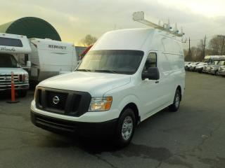 Used 2012 Nissan NV 2500 2500 HD V8 High Roof Cargo Van with Shelving & Roof Rack for sale in Burnaby, BC