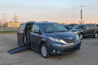 Used 2017 Toyota Sienna XLE - Mobility, Side Entry Power Ramp for sale in London, ON