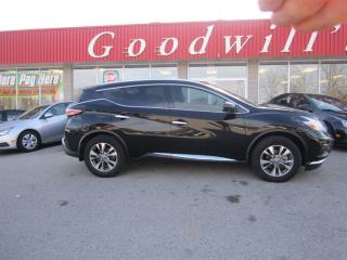 Used 2016 Nissan Murano SL! HEATED LEATHER SEATS! SUNROOF! for sale in Aylmer, ON