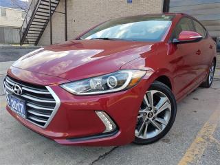 Used 2017 Hyundai Elantra GLS-Push start-Blind Spot Detect for sale in Mississauga, ON