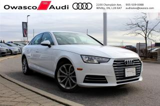 Used 2017 Audi A4 quattro Progressiv w/ MMI Navigation for sale in Whitby, ON