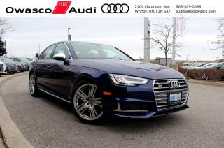 Used 2018 Audi S4 quattro Technik + Heads Up Display for sale in Whitby, ON